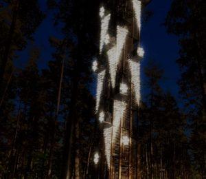 Vizualizacija_Gaismas_parks_Jurmala_Dzintaru_skatu_tornis